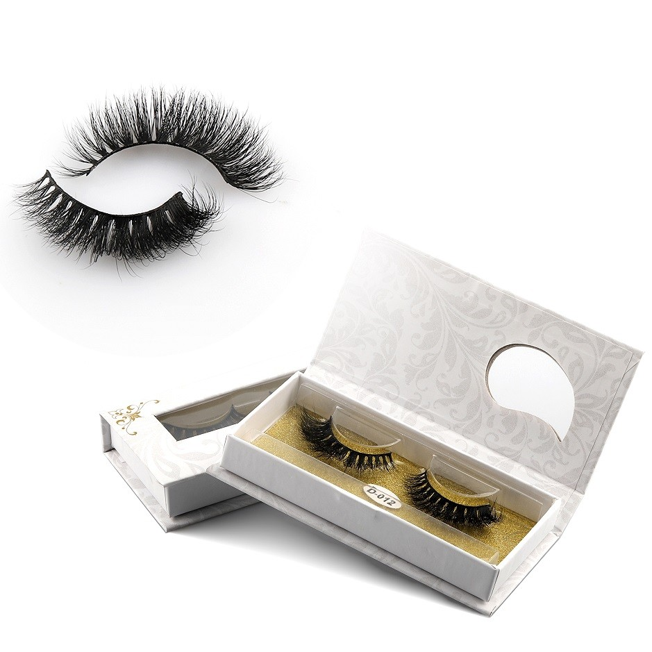 OEM Private Label Luxury Wholesale Strip Lashes Own Brand Natural 3D Real Horse Eyelashes