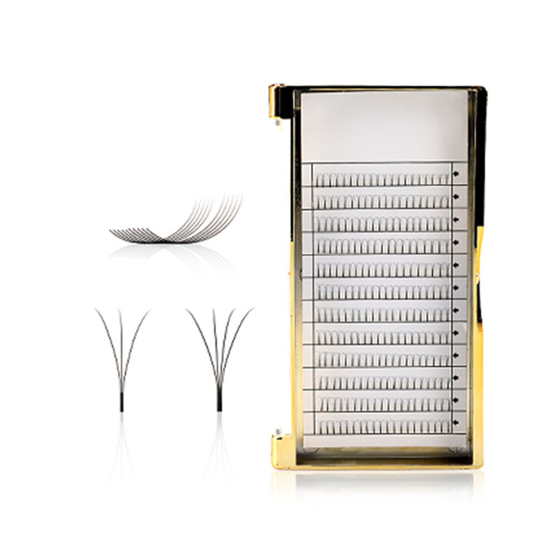 0.07mm 0.1mm Premade Fans Lashes Eyelashes Professional Lash Extensions